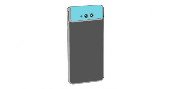 小米手机新专利曝光 弯曲显示屏翻转摄像头设计