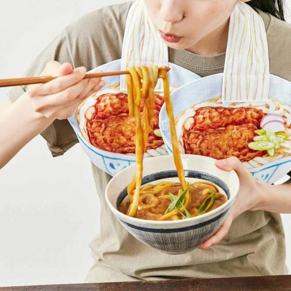 """大勾食慾!日本杂货品牌推出超爆笑""""开胃拉面毛巾"""""""