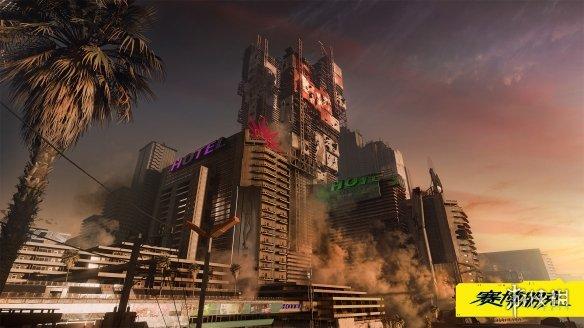 《赛博朋克2077》官方发布高清新壁纸 画面让人赞叹