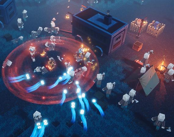 动作冒险《我的世界:地下城》官宣将于5月26日发售