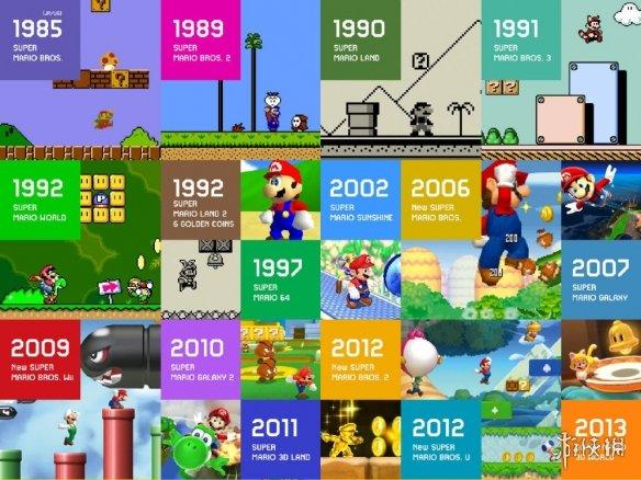 35周年庆多款马里奥游戏将登NS 《纸片马里奥》推出