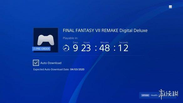 《最终幻想7:重制版》预载提前至4月3日 提前发售?