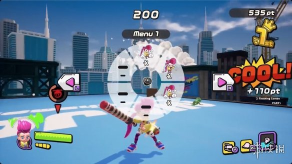 类《喷射战士》独占新作《Ninjala》实机演示预告公布