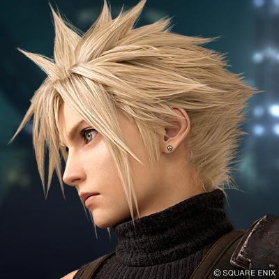 官方制《最终幻想7:重制版》角色头像 意外的精致