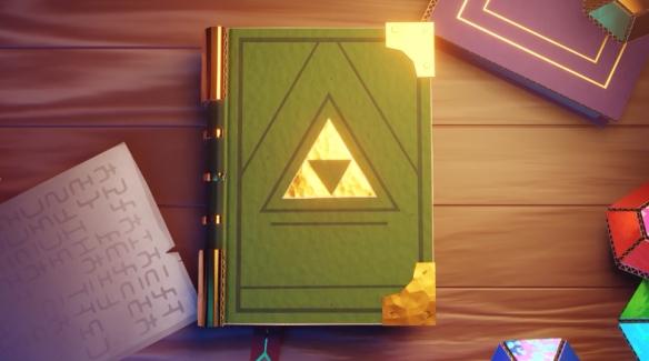 玩家打造《纸片塞尔达》宣传片 制作画风堪比官方!