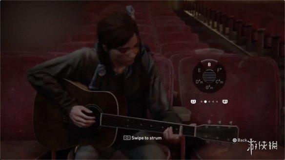 音游实锤!网曝《美国末日2》实机片段  艾莉弹吉他