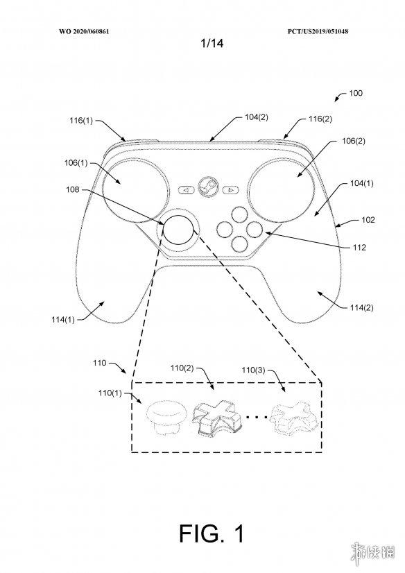 V社手柄新专利:模块化手柄设计 更换自由度非常高