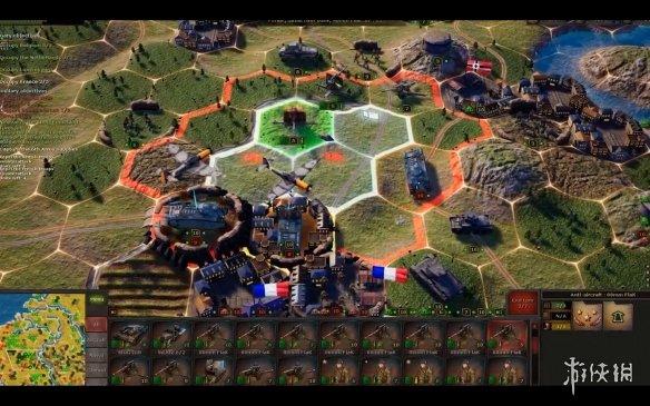 二战策略游戏《战略思维:闪电战》今日登陆上线!