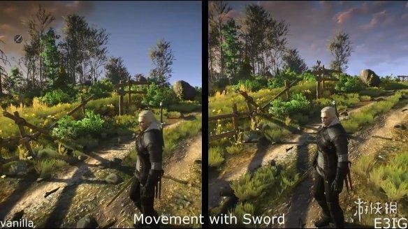 神奇MOD让《巫师3》达到了2014 E3预告片的惊艳效果