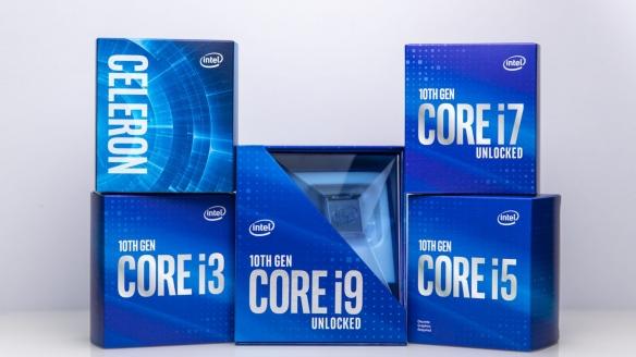 不超频够用了!intel良心升级十代酷睿盒装CPU散热