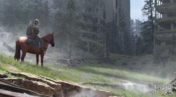 《最后生还者2》概念设计图发布 艾莉骑马漫步末世间