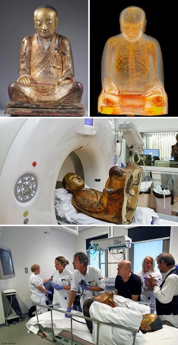 佛像内居然藏了个木乃伊!24张照片揭露事物的另一面