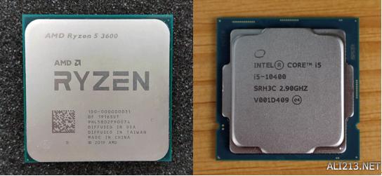 锐龙53600与酷睿i510400F对比测试