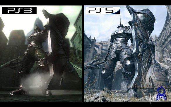 画面的飞越!《恶魔之魂:重制版》与原版画面对比!