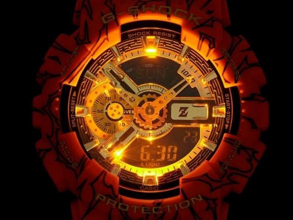 《龙珠格斗Z》悟空主题手表推出 细节感人酷炫十足!