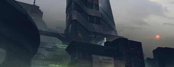 《赛博朋克2077》海量游戏原画发布欢迎来到夜之城!
