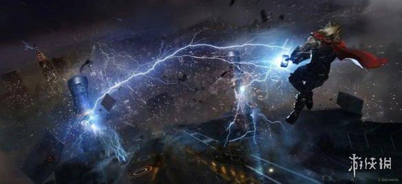超级英雄游戏《漫威复仇者联盟》发布合作战区预告!