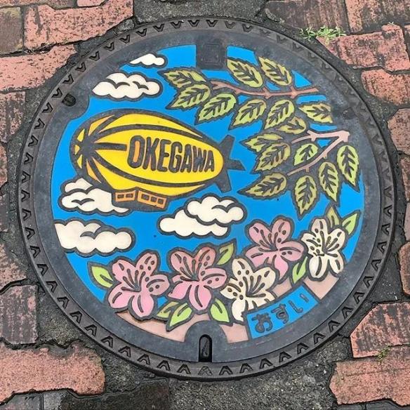 日本街头的井盖艺术!汇聚各种独特风格堪比精美画作