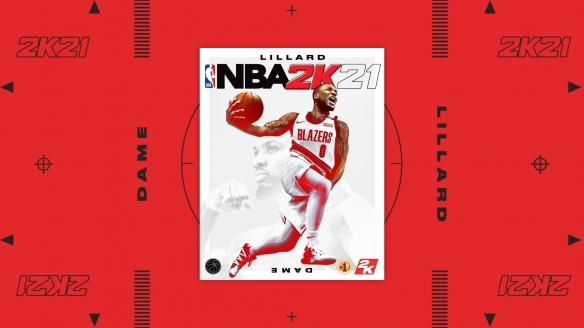 达米安-利拉德成为本世代《NBA 2K21》封面球员