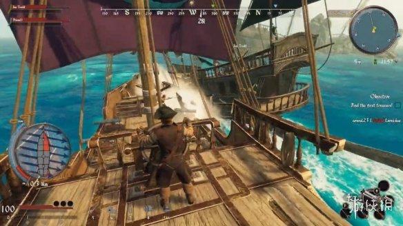 多人海盗夺宝新作《遥不可及:宝藏》实机预告公布