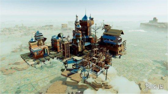 《空中王国》实机演示 翱翔在荒漠上空的华丽城堡