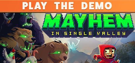 动作冒险游戏《Mayhem in Single Valley》专题上线