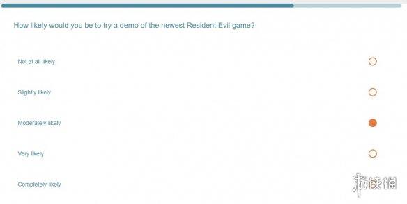 卡普空推特发布调查问卷 暗示将推出《生化8》试玩版