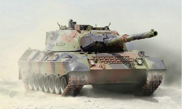 这才是天生猎手《坦克世界》Leopard 1暗影突袭
