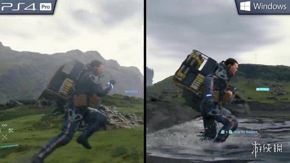 《死亡搁浅》PS4Pro与PC版画面对比PC版更加细腻