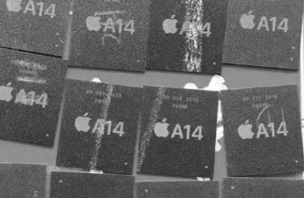 苹果A14芯片谍照首曝光:5nm制程工艺!性能提高15%