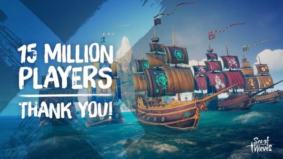《盗贼之海》steam销量破百万 玩家人数超1500万!