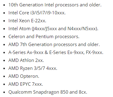 微软公布Windows 10 v2009硬件要求:CPU要求没变