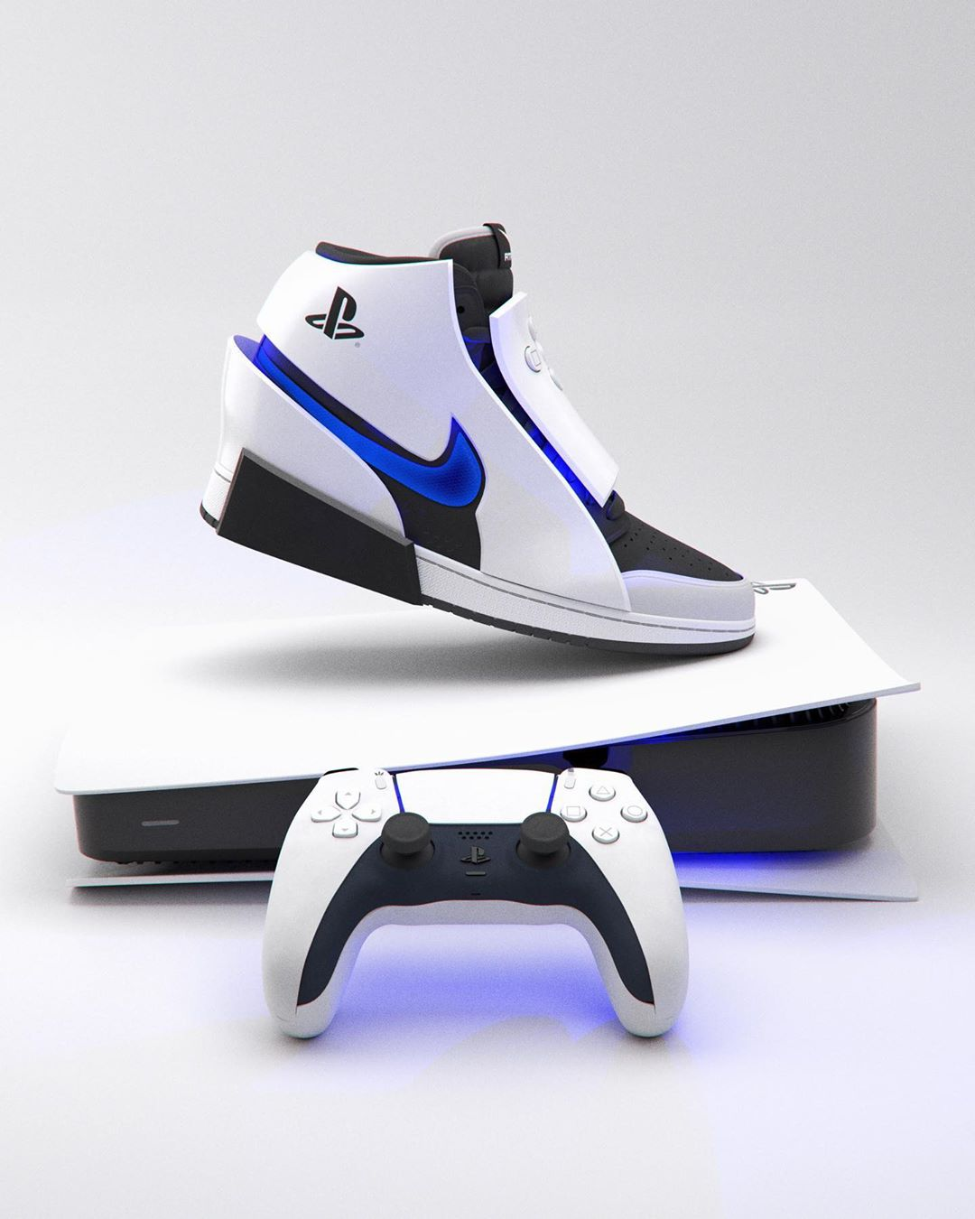 次世代PS5/Xbox主题运动鞋!造型炫酷你更喜欢哪个?