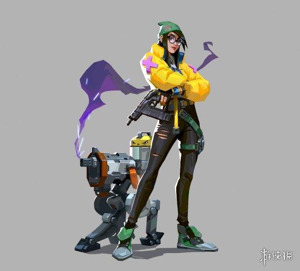 《无畏契约》新特工正式公布 操控机器人的技术妹子!
