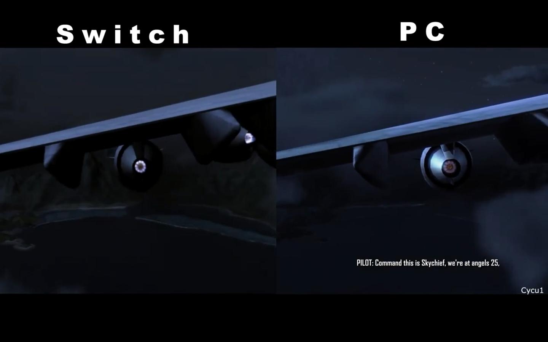 差距明显!NS《孤岛危机:重制版》与PC原版画面对比