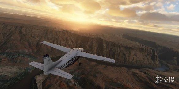 《微软飞行模拟》新实机演示 极致风景令人沉迷!