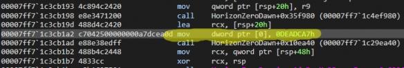 PC《地平线:零之曙光》是调试版本?含大量错误代码
