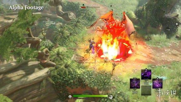 公布了以《万智牌》为世界观的MMORPG《魔法传奇(Magic Legends)》新实机演示