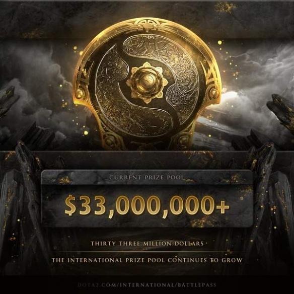《Dota2》TI10奖池破3300万美元 距TI9仅差100多万