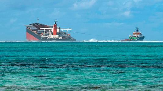 毛里求斯漏油事件或因船员蹭WiFi 面临亿元巨额赔偿
