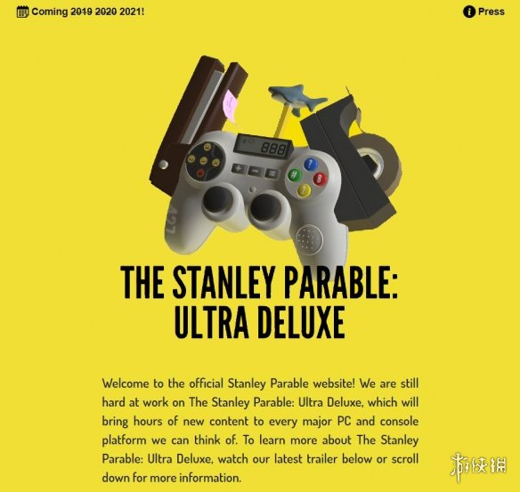 《史丹利的寓言:超豪华版》跳票 更多路线全新结局