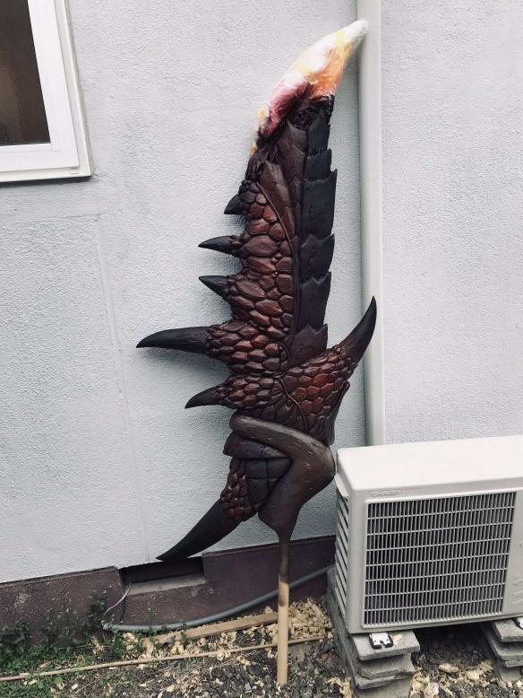 岛国大神打造《怪猎》赤红之翼 威武霸气细节还原!