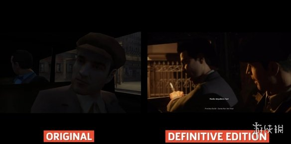 画面提升明显!《四海兄弟:决定版》VS原版画面