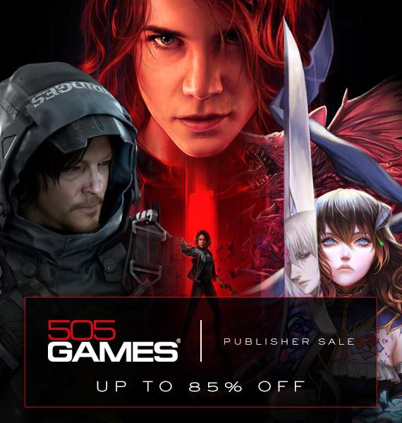 最高85%优惠!505Games在Steam开启限时特卖活动