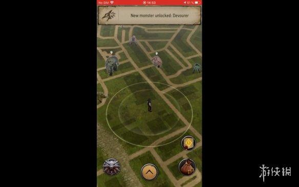 免费AR手游《巫师:怪物杀手》测试版演示放出!