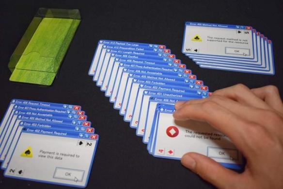 """岛国推Windows错误弹窗主题扑克牌 大小王竟是""""蓝屏"""""""
