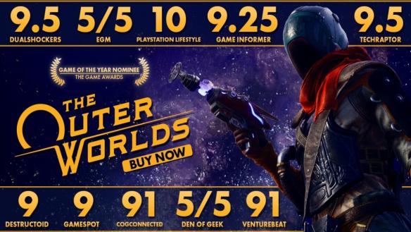 Epic《天外世界》开启半价活动 搭配优惠券仅5美元
