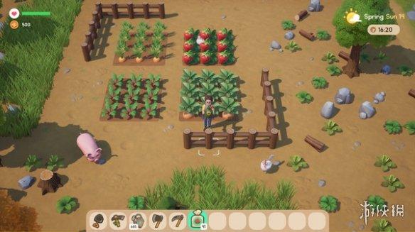 农场模拟新作《珊瑚岛》上架Steam 拯救热带岛屿生态