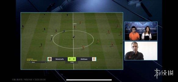 名将范佩西连麦解说FSL决赛 足球电竞未来可期