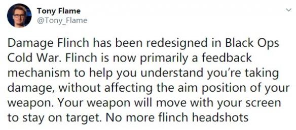 不再有抖动爆头了!《使命召唤17》伤害回馈机制改动